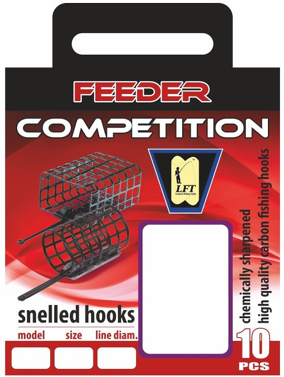 LFT Feeder Competition 75cm. 10pcs. 10 to 18